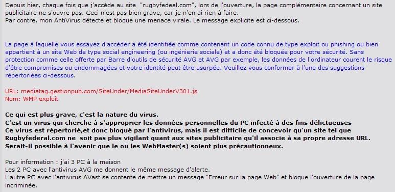 Menace !!!! Virus 20100410_mediatag